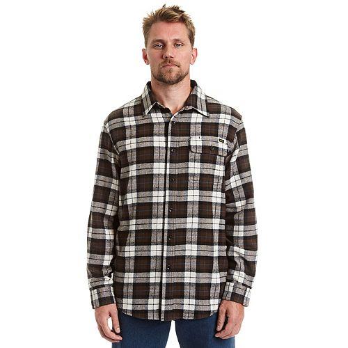 Men's Stanley Classic-Fit Plaid Flannel Button-Down Shirt