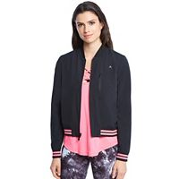 Women's Danskin Reversible Bomber Jacket