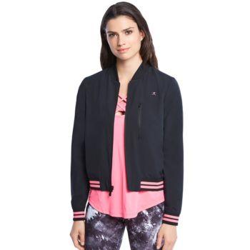 Women's Danskin Reversible Bomber Jacket