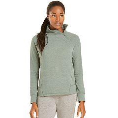 Women's Danskin Slant Zipper Pullover Top