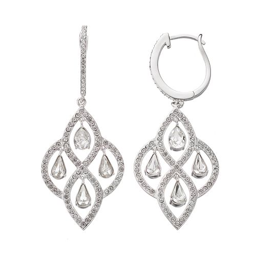 Splendor sterling silver chandelier earrings diamond splendor sterling silver chandelier earrings aloadofball Gallery