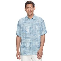 Men's Havanera Classic-Fit Textured Button-Down Shirt