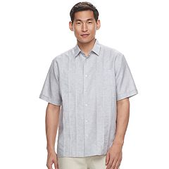 Men's Havanera Classic-Fit Two-Pocket Linen-Blend Button-Down Shirt