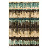 KAS Rugs Barcelona Palma Abstract Striped Rug