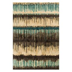 KAS Rugs Barcelona Palma Abstract Striped Rug