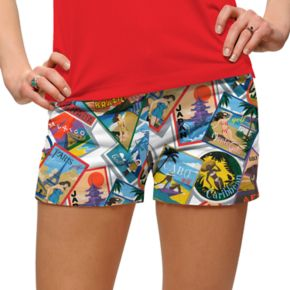 Women's Loudmouth Postcard Golf Short