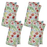 Celebrate Spring Together Bright Floral Napkin Set 4 pk