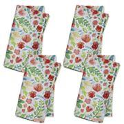 Celebrate Spring Together Bright Floral Napkin Set 4 pk