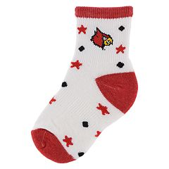 Baby Mojo Louisville Cardinals 'I'm a Star' Cushioned Crew Socks