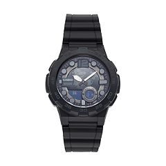 Casio Men's Telememo World Time Analog-Digital Watch - AEQ100W-1BV