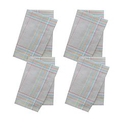 Celebrate Spring Together Pic Stitch Napkin Set 4-pk.