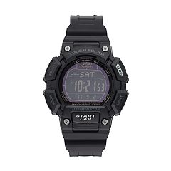 Casio Men's Tough Solar Digital Chronograph Watch  - STLS110H-1B2
