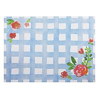 Celebrate Spring Together Gingham Placemat