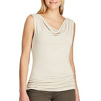 Women's Chaps Cowlneck Stretch Top