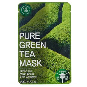 Tosowoong Pure Green Tea Mask Pack