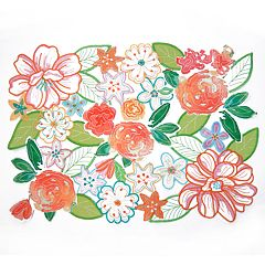 Celebrate Spring Together Cut-Out Flower Placemat