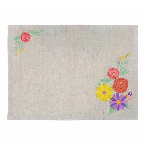 Celebrate Spring Together Floral Applique Placemat
