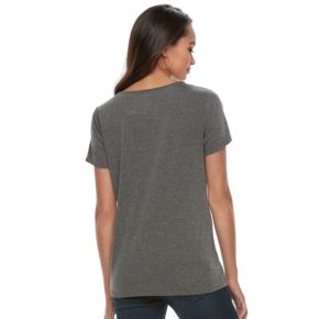 Petite Apt. 9® Holiday Foiled Graphic Tee