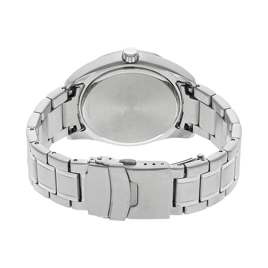 Armitron Men's Stainless Steel Solar Watch