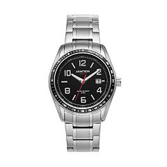 Armitron Men's Stainless Steel Solar Watch