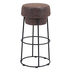 Zuo Modern Pop Backless Bar Stool