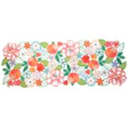 Celebrate Spring Together Cut-Out Flower Table Runner - 36""
