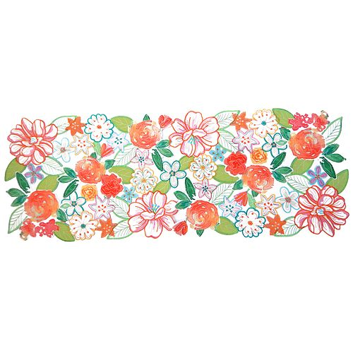 Celebrate Spring Together Cut-Out Flower Table Runner - 36