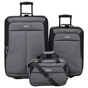 Leisure Voyager 3 Piece Wheeled Luggage Set