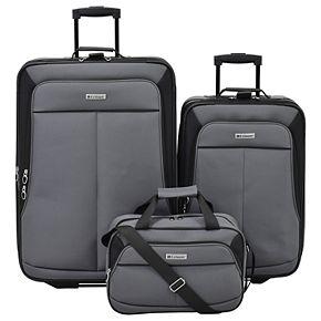 Leisure Voyager 3-Piece Wheeled Luggage Set