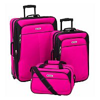 Leisure Voyager 3-Piece Wheeled Luggage Set