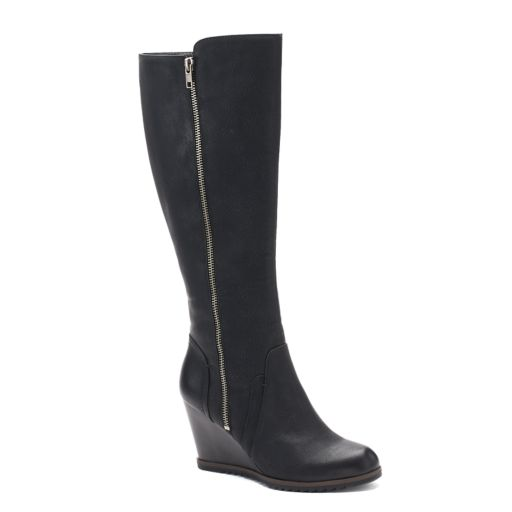 SONOMA Goods for Life™ Natalie Women's Wedge Knee High Boots