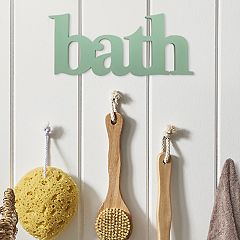 Stratton Home Decor 'Bath' Wall Decor