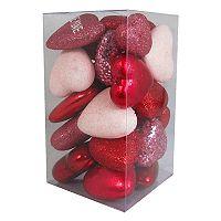 Celebrate Valentine's Day Together Heart Vase Filler 25-piece Set