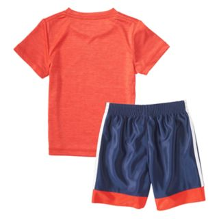 Baby Boy adidas Logo Graphic Tee & Shorts Set