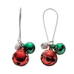 Jingle Bell Drop Earrings
