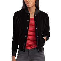 Women's Chaps French Terry Baseball Jacket