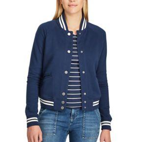 Women's Chaps French Terry Baseball Jacket