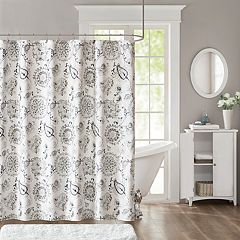 Madison Park Sharon Printed Shower Curtain