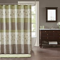 Madison Park Rachel Embroidered Shower Curtain