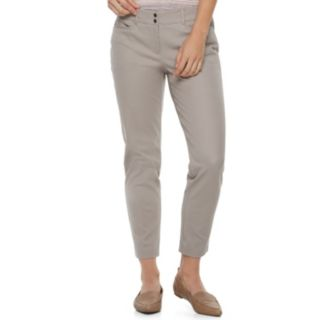 Women's Apt. 9® Bistretch Midrise Ankle Pants