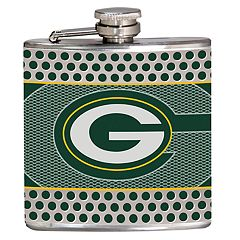 Green Bay Packers 6-Ounce Hip Flask