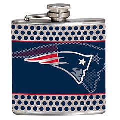 New EnglandPatriots 6-Ounce Hip Flask