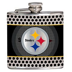 Pittsburgh Steelers 6-Ounce Hip Flask