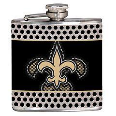 New Orleans Saints 6-Ounce Hip Flask