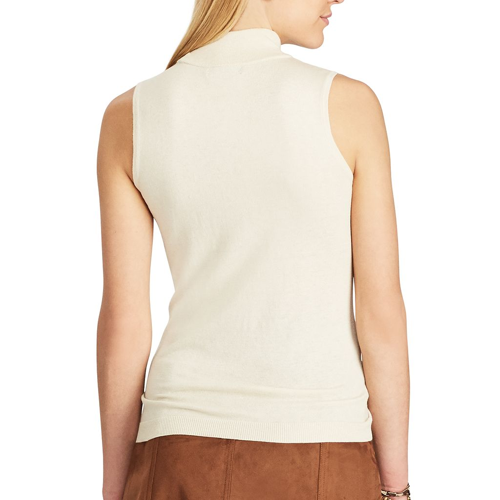 Women's Chaps Sleeveless Sweater