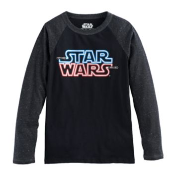 Boys 8-20 Star Wars Light My Logo Tee