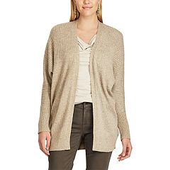 Women's Chaps Open-Front Cardigan