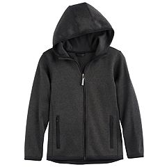 Boys 8-20 ZeroXposur Sweater Fleece Jacket