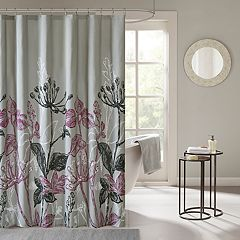 Madison Park Essentials Nicolette Printed Shower Curtain