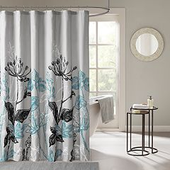 Madison Park Essentials Ashby Printed Shower Curtain